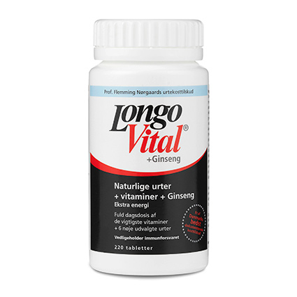 Longo Vital +Ginseng 220tab