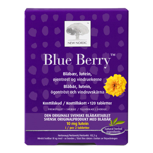 Blue Berry original 120tab