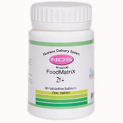 Image of   NDS Zn+ - Zinc tablet 90 tab