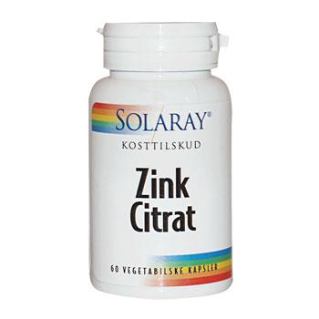 Image of   BioCitrate Zink 20 mg 60 kap