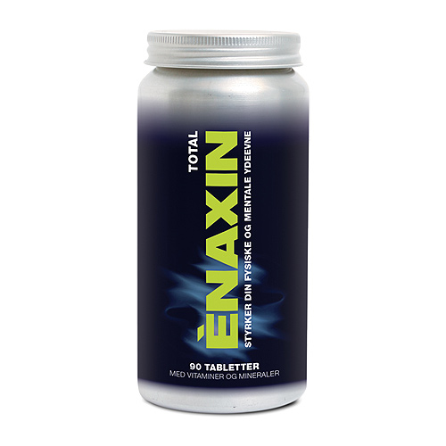 Image of   Enaxin Total vitaminer og mineraler 90 tab