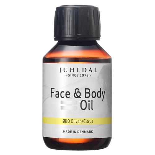 Face & Body Oil oliven-citrus 100ml Juhldal