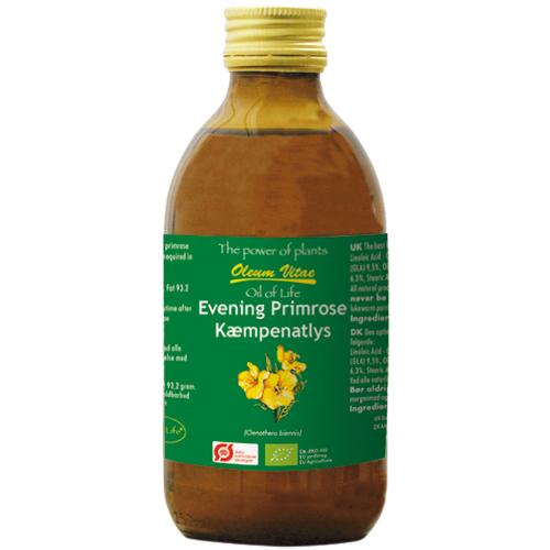 Image of Kæmpenatlysolie 250ml fra Din Sundhed.Net ApS