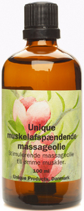 Image of   Muskelafspændings massageolie 100 ml fra Unique