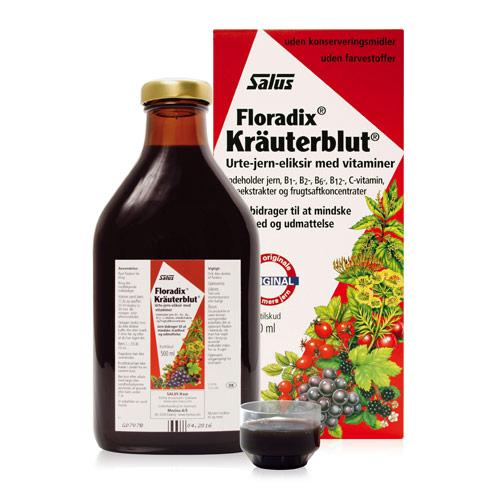 Image of   Salus Kräuterblut Floradix 500 ml
