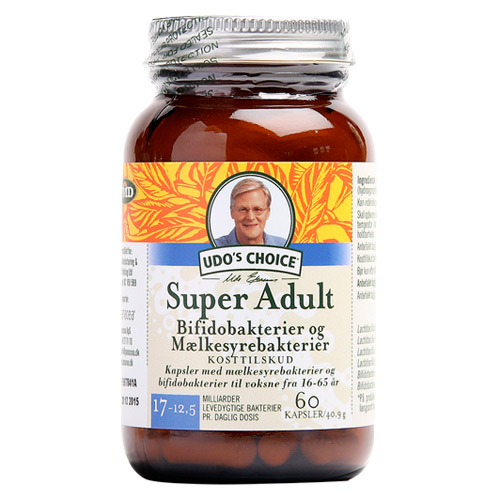 Probiotics super adult 60 kap Udos choice