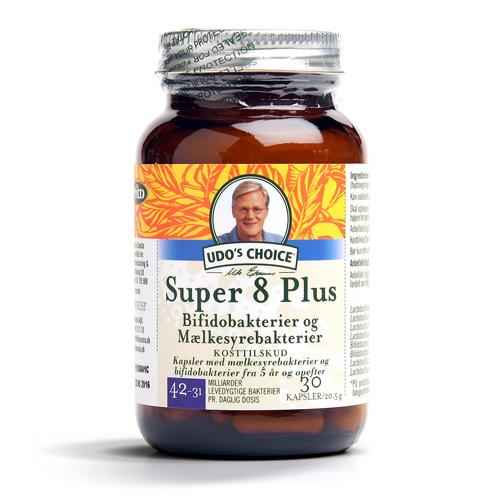 Image of   Udos choice Probiotics super 8 - 5 år og op efter - 30 kap