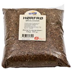 Hørfrø økologisk 500 gr fra Rømer