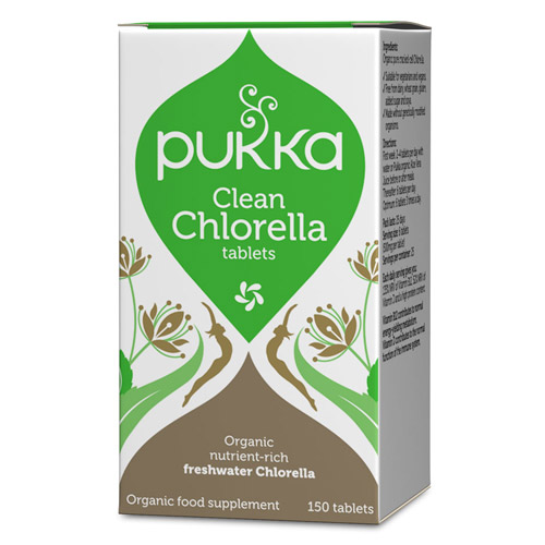 Chlorella 500 mg 150tab økologisk fra Pukka