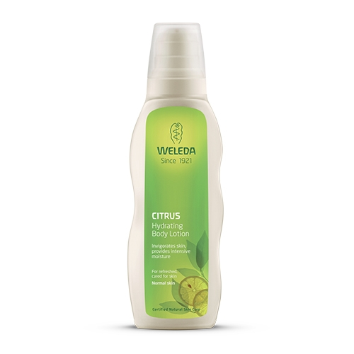 Image of   Body Lotion Hydrating Citrus 200ml fra Weleda