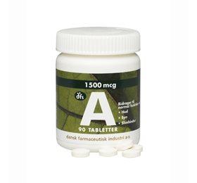 A vitamin 1500 mcg/5000 ie 90 tab