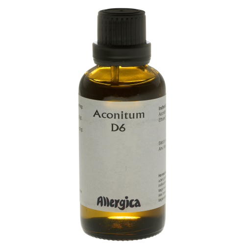 Image of Aconitum D6 50ml fra Allergica Amba
