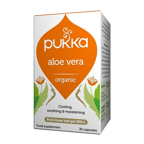 Image of   Aloe Vera kapsler økologisk 30kap Pukka