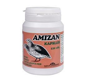 Image of   Amizan (vagtelæg) 120 kap fra Naturdrogeriet