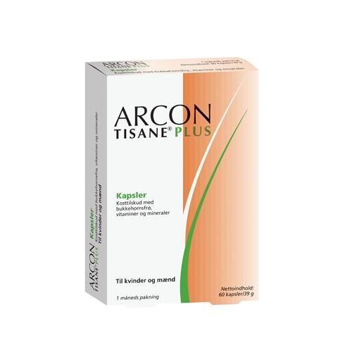 Image of Arcon Tisane Plus 60 kapsler