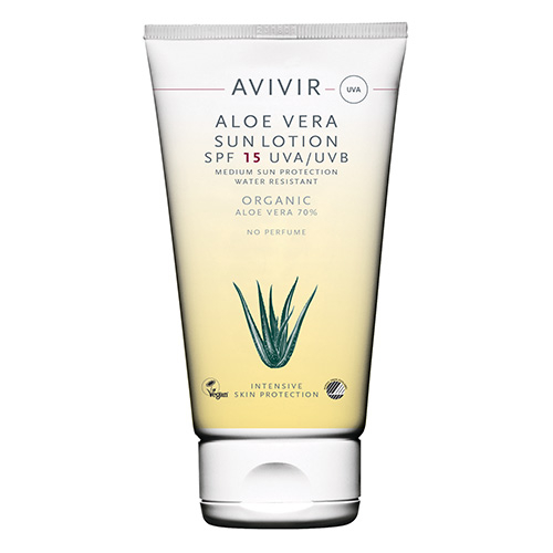 Image of   AVIVIR Aloe Vera Sunlotion SPF 15 150 ml