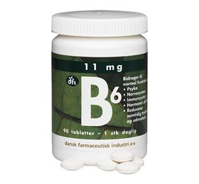 Image of   B6 depottablet 11 mg 90 tab