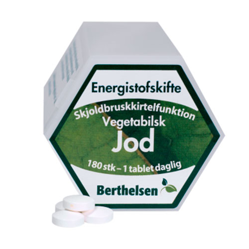 Image of   Jod 225 mcg 180tab fra Berthelsen