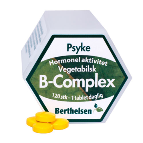 Image of   Vegetabilsk B-Complex 120 tab Berthelsen