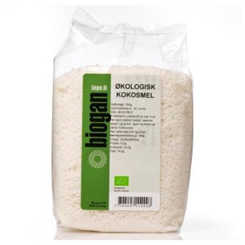 Kokosmel økologiske 500gr fra Biogan