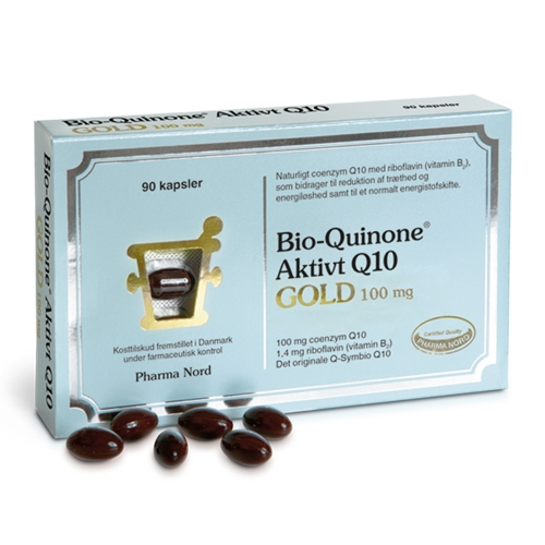 Image of   Pharma Nord Bio-Quinone Q10 Gold 100 mg (60+30 kapsler)