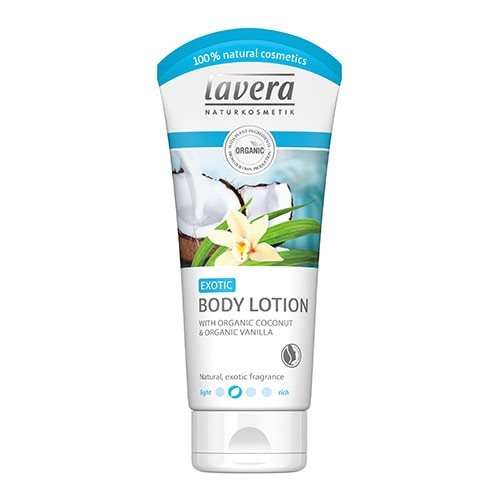Bodylotion vanille/kokos 200ml Lavera