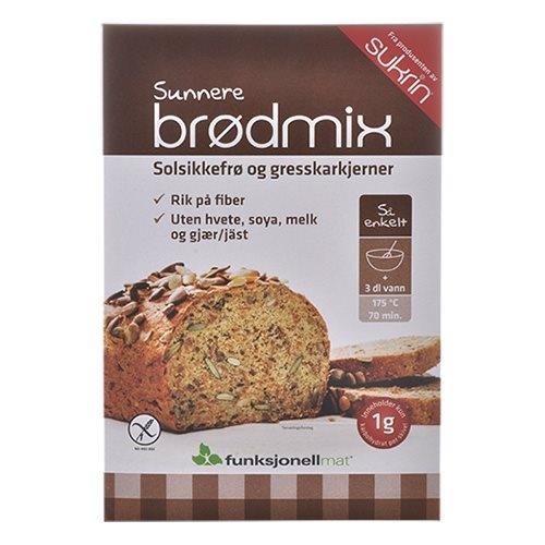 Lovkarb brødmix glutenfri 275gr fra Funktionel Mad