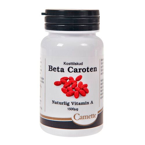 A vitaminer - Betacaroten