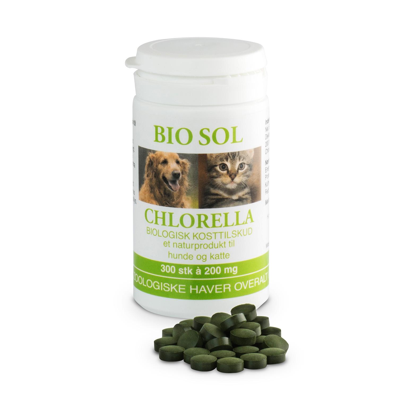 Image of   Bio Sol Chlorella til Dyr 500 tab