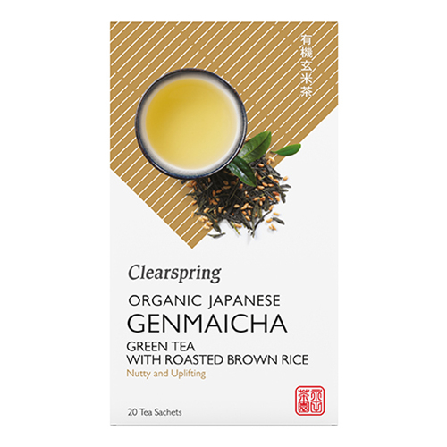 Image of   Genmaicha te i breve 36gr Clearspring