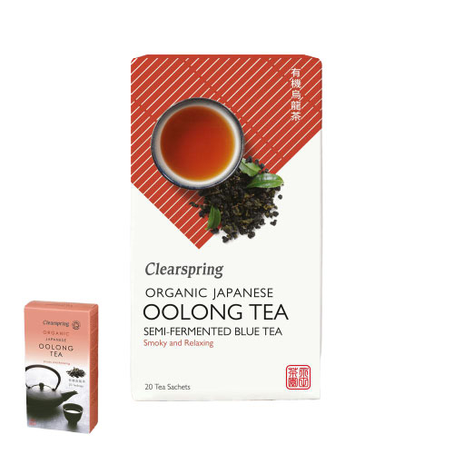 Image of   Oolong te 20 breve Clearspring