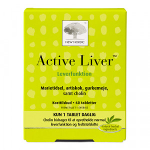 New Nordic Active Liver (60 tabletter)