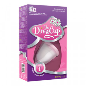 DivaCup Menstruationskop Model 1 (1 stk)