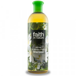 Faith in Nature Hamp og Enggrapgræs Shampoo (250 ml)
