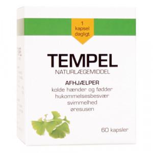 Tempel Ginkgo Biloba 30 mg (60 kapsler)