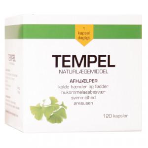 Tempel-Ginkgo Biloba 30 mg (120 kap)