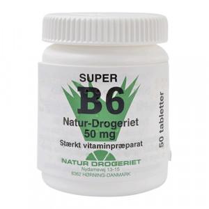 Natur Drogeriet B6 Vitamin 50 Mg (50 tabletter)