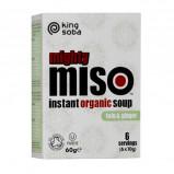 Instant Miso suppe tufo & Ingefær økologisk fra King soba