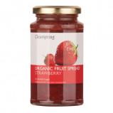 Marmelade jordbær uden tilsat sukker økologisk 290grfra Clearspring