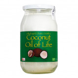 Ren jomfru kokosolie Oil of life - livets olie Ø 500 ml