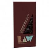 Chokolade mørk 80% kakao raw økologisk 70gr