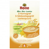 3 kornsgrød demeter 250gr fra Holle