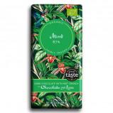Chokolade mint 67% økologisk 100gr.