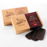 Pålægschokolade lys 33,5% økologisk 125gr fra Økoladen