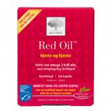 Red Oil omega-3 krill olie 120 kap fra New Nordic Healthcare