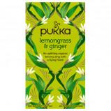 Lemongrass & Ginger te Økologisk 20 br fra Pukka
