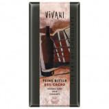 Chokolade mørk 85% 100gr. Vivani