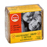Brød i skiver glutenfri 500gr fra Pema