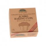 Bageforme jumbo ubleget 100% nedbrydelig 24 stk. fra If you care