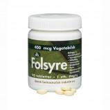 Folsyre 400 mcg 90 tab fra Dansk Farmaceutisk Industri